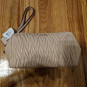 NWT COACH QUILTED WRISTLET